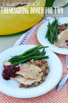 Pot} Thanksgiving Dinner for Two This meal only takes 30 minutes -->>> Thanksgiving Dinner For Two from This meal only takes 30 minutes -->>> Thanksgiving Dinner For Two from Christmas Dinner For Two, Thanksgiving Dinner For Two, Dinner For 2, Holiday Dinner, Thanksgiving Recipes, Holiday Recipes, Dinner Recipes, Dinner Ideas, Holiday Foods