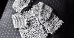 Aesthetic Nest: Crochet: Picot and Lace Layette