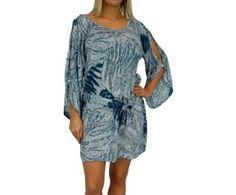 I'm selling Daydream Dress 3 sizes Taro Print TEAL - A$59.95 #onselz