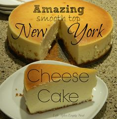 Create this Amazing Crack-less New York Style Cheesecake I made this Feb 2015 The best cheesecake ever! No Bake Desserts, Just Desserts, Delicious Desserts, Dessert Recipes, Yummy Food, Food Cakes, Cupcake Cakes, Cupcakes, Yummy Treats