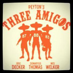 Peytons 3 amigos