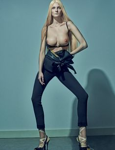 Steven Klein Envisions 'Boobs' John Currin Style For LOVE Magazine #13 Spring2015 - 3 Sensual Fashion Editorials | Art Exhibits - Women's Fashion & Lifestyle News From Anne of Carversville