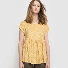 Compre T-shirt estampada Mulher na La Redoute. O melhor da moda online.
