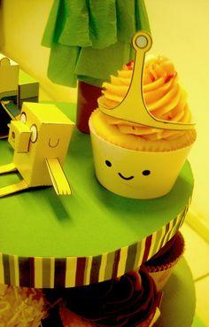 Detalhe Cupcake da Princesa Jujuba