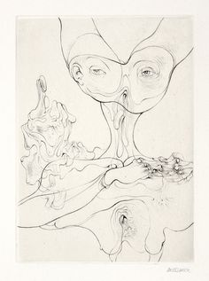 hans bellmer drawings - Google Search