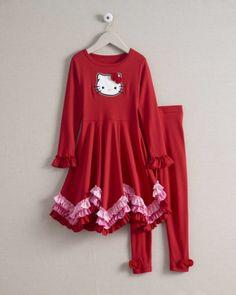girls hello kitty® dress set