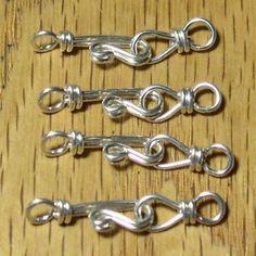Clips #Jewellery Poppy Loves Pinterest: Gorgeous Homemade Jewellery