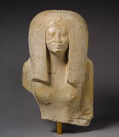 Great Royal Queen Nefertari, the High Priestess of Amun, wife of Nesi (Pharaoh) Ahmose, and daughter of Great Royal Queen Ah-hotep and Nesi (Pharaoh) Seqenenre Tao II. Egyptian Queen, Ancient Egyptian Art, Ancient World History, Art History, African History, African Art, Statues, Kemet Egypt, Art Antique