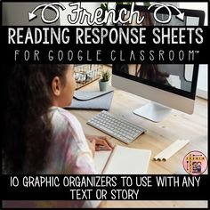This set of reading response sheets and graphic organizers is ideal for distance learning or your Google Classroom™. It includes 10 reading response sheets created in Google Slides™. Some of the graphic organizers also come in two formats so that you can customize them to fit your needs and expectations. Once you open this file, just click the link in order to get to the graphic organizers. Reading Response, No Response, French Resources, French Immersion, Vocabulary Cards, Google Classroom, Graphic Organizers, Distance, Activities