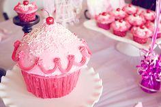 "The ""Cupcake"" birthday cake.."