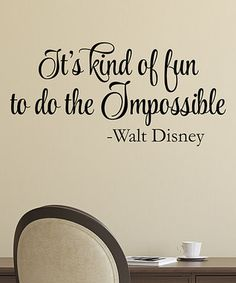 'Do the Impossible' Wall Quotes™ Decal