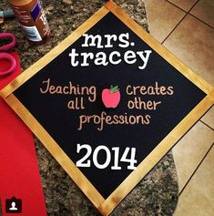 Teaching Grad Cap.