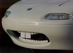 """I always thought these """"Teeth"""" for the Mazda MX-5 were hilarious."""