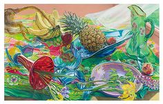 janet fish | Janet Fish: Recent Paintings - Exhibitions - DC Moore Gallery