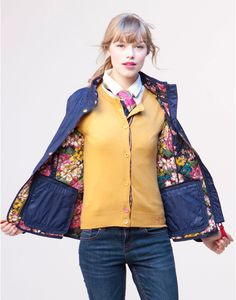 joules quilted jacket - Google Search