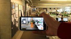 augmented reality wayfinding on Behance
