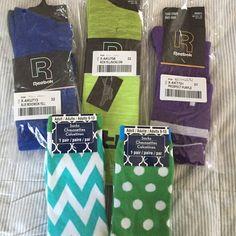never worn socks 3 pair Reebok knee socks, 2 ladies mid calf socks Reebok Accessories Hosiery & Socks