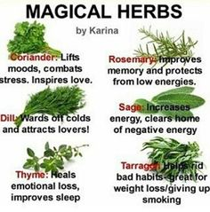 See what you can do with some common herbs!ie/intuition-tests/magic-herbs. Healing Herbs, Medicinal Plants, Natural Healing, Healing Spells, Magic Spells, Holistic Healing, Magic Herbs, Herbal Magic, Natural Medicine