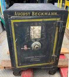 Antique Safe, Rare Antique, Combination Safe, Safe Vault, Safe Lock, Deposit Box, Rare Words, Coffer, Metal Toys