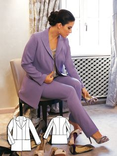 Hair and Makeup: 9 Plus Size Sewing Patterns for Women                                                                                                                                                     More