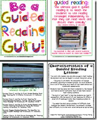 Ideas for guided reading