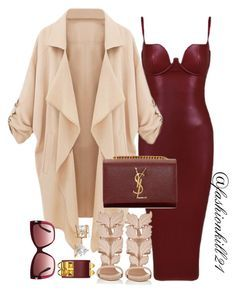 """""""Pretty girls"""" by fashionkill21 ❤ liked on Polyvore featuring Giuseppe Zanotti, Yves Saint Laurent, Allurez, Tom Ford, women's clothing, women, female, woman, misses and juniors"""