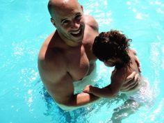 Vin Diesel and daughter.