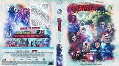 Avengers: Age of Ultron (2015) Blu-ray Custom Cover