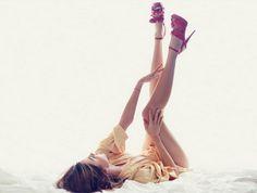 Miranda Kerr by Chris Colls via Studded Hearts
