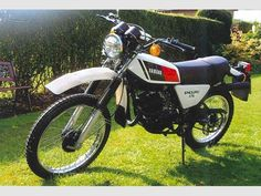 YAMAHA DT175MX MK1 (These models are much rarer, and was my bike from new in 1978)