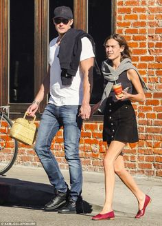 Alexa Chung and Alexander Skarsgard are spotted holding hands in Los Angeles, California | February 8, 2016