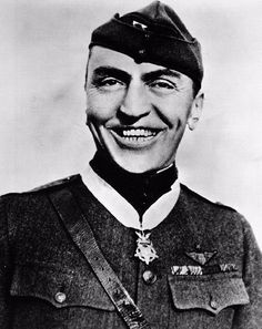 """Today in 1930: Capt. Edward """"Eddie"""" Rickenbacker was awarded the Medal of Honor for boldly attacking seven enemy airplanes alone and shooting down two of them on September 25, 1918. He was the United States' top scoring ace during World War I, with 26 confirmed aerial victories."""