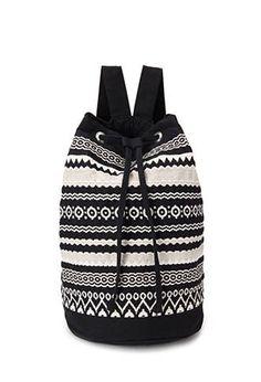 forever 21 tribal inspired backpack $22.80