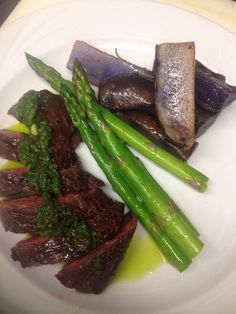 Smitty's Grill - Pasadena, CA, United States. Prime hanger steak roasted purple…