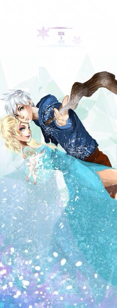 Jack Frost and Elsa... this is bad. Why did I search this when I knew I'd get sucked in...
