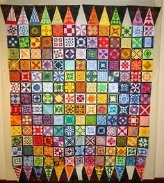 """""""Dear Jane"""" quilt.  I wish I could do this.  I bought the book and cd tutorial...its a bit intimidating, but I'd love to try it."""
