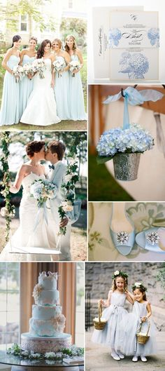 Your wedding is the beginning of your happily ever after. Fill your fairytale with a Cinderella-inspired powder blue - it is dainty, elegant, and in all ways classic