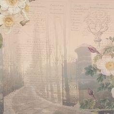 "Scrapbooking papir ""Kristal i ruže 1"" — Hobby Art Chemaco"