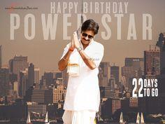 #HappyBirthdayPowerstar Pawan Kalyan Wallpapers, Power Star, Happy Birthday, Stars, Coat, Happy Brithday, Sewing Coat, Urari La Multi Ani, Happy Birthday Funny