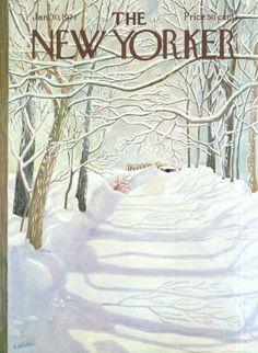Ilonka Karasz   The New Yorker Covers  January 30, 1971 …