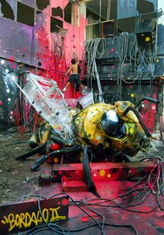 Bordalo II hip hop instrumentals updated daily => http://www.beatzbylekz.ca ......