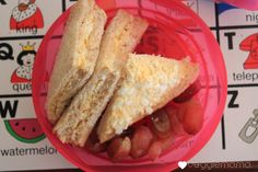 Egg sandwiches.  Kid food – lunch | The Veggie Mama