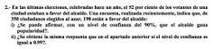 Ejercicio 2A 2000-2001 JUNIO. Contraste de hipótesis.  Pau de matemática para ciencias sociales, Canarias.