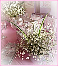 Have babys breath everywhere!!