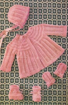 9f31f3ce2 528 Best KNITTING PATTERNS BABY MATINEE COATS images