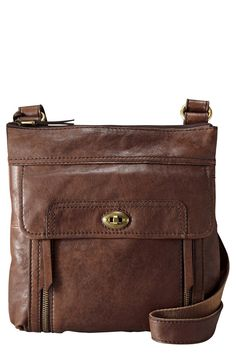 Fossil 'Stanton Traveler' Cross body Bag. Bought it at Macy's today. Going to Vegas! md