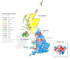 Election map and swingometer Political Dat Viz Pinterest Uk