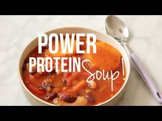 Essie Eats: Power Protein Soup Recipe!