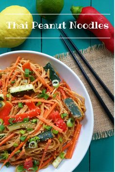 Super easy and super tasty with the perfect balance of sweet, sour, savory and spicy. Use spaghetti for a quick version, you probably already have everything in your pantry!
