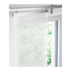 Trust IKEA for panel curtains at affordable prices, available in a variety of styles and designs which perfectly fit patio doors, oversized windows, and more. House Styles, White Curtains, Ikea, Curtains, Panel Curtains, Drapes Curtains, Sliding Doors Interior, Window In Shower, Curtains With Blinds